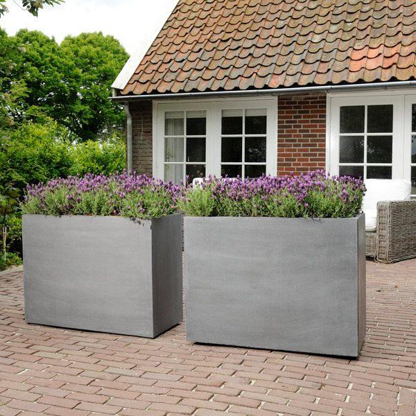 Jardinières beton design2