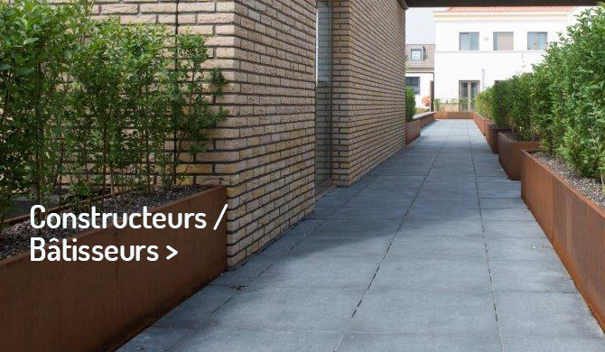 Jardinières pour Constructeurs Bâtisseurs