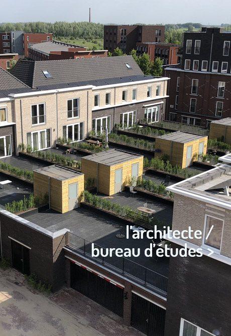 Jardiniéres pour le architect