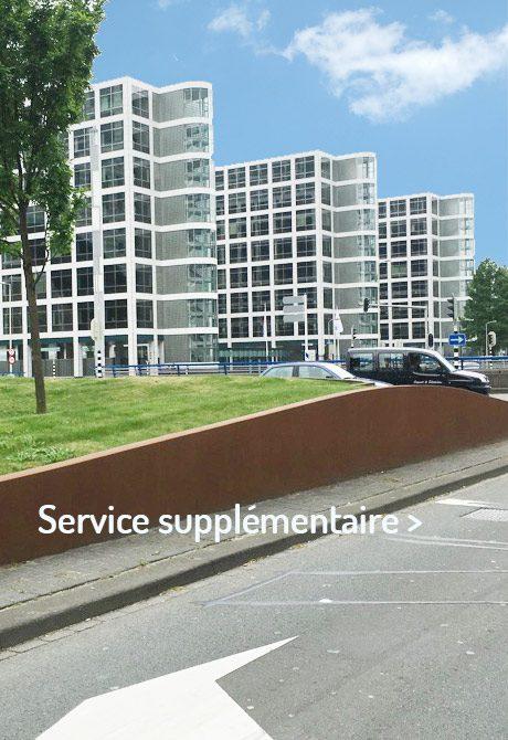 Jardinières Service supplémentaire