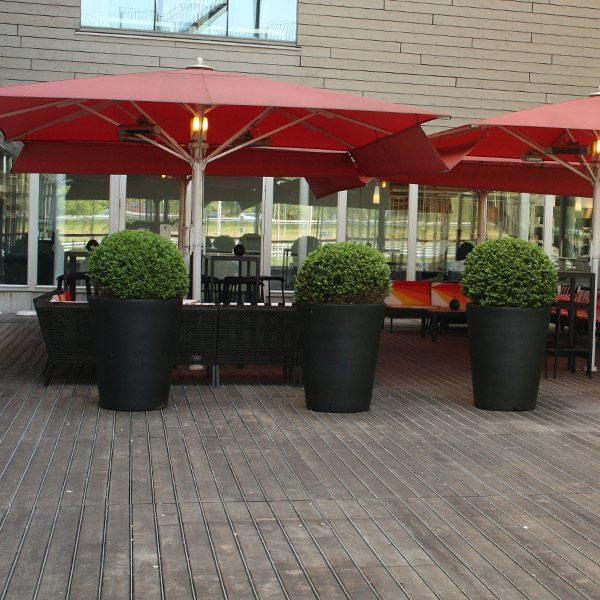 Pots et Jardinieres pour hôtels restaurants